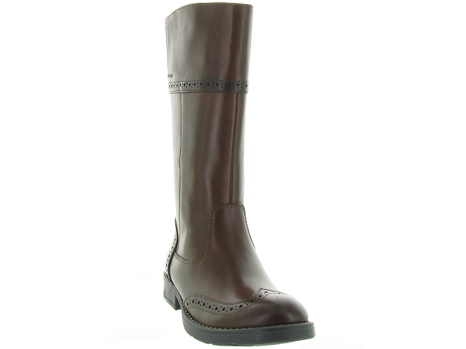 Geox bottines et boots j74d3g sofia marron4297501_3