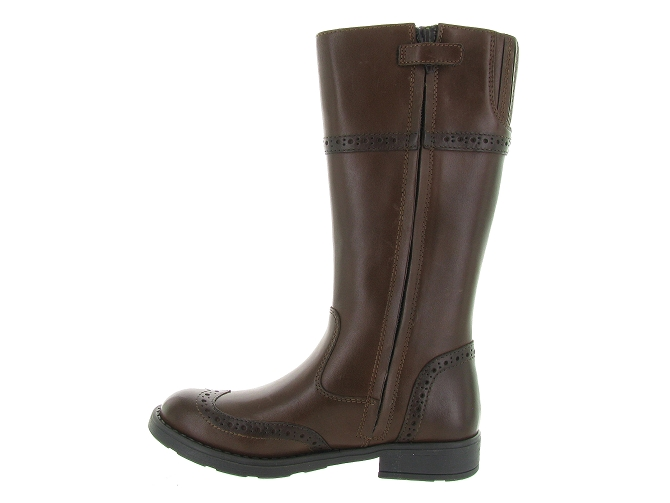 Geox bottines et boots j74d3g sofia marron4297501_4