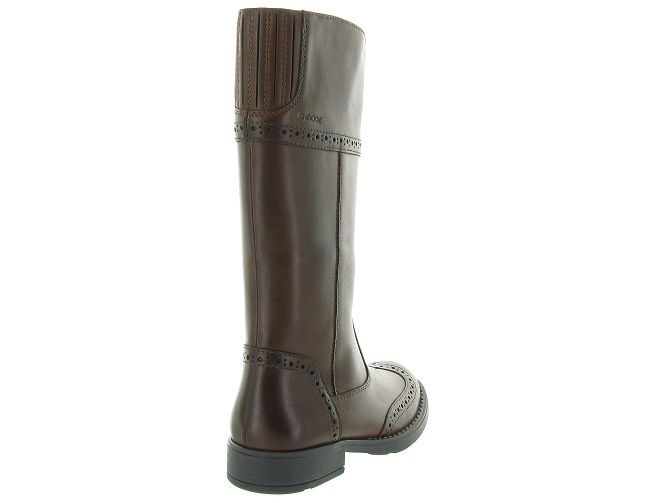 Geox bottines et boots j74d3g sofia marron4297501_5