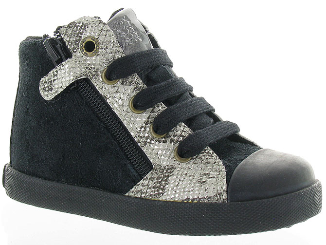 Geox baskets et sneakers b72d5a kiwi girl noir