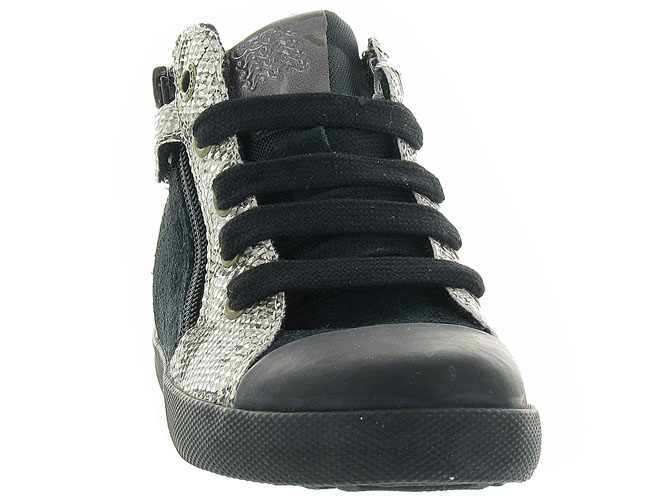 Geox baskets et sneakers b72d5a kiwi girl noir4298901_3