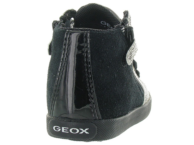 Geox baskets et sneakers b72d5a kiwi girl noir4298901_5