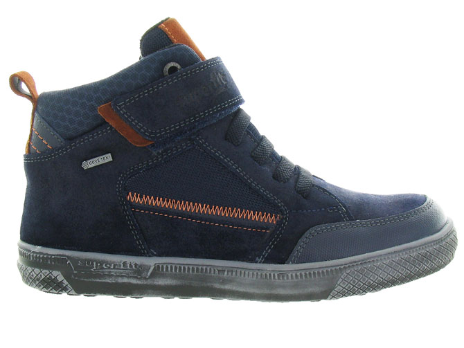 Superfit chaussures a lacets 200 goretex marine4337402_2