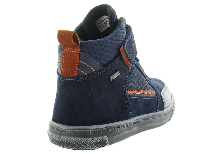 Superfit chaussures a lacets 200 goretex marine4337402_5