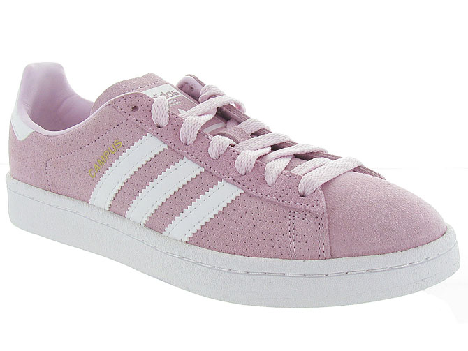 Adidas baskets et sneakers campus rose