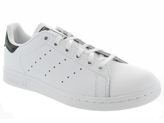 Adidas baskets et sneakers stan smith perfore noir