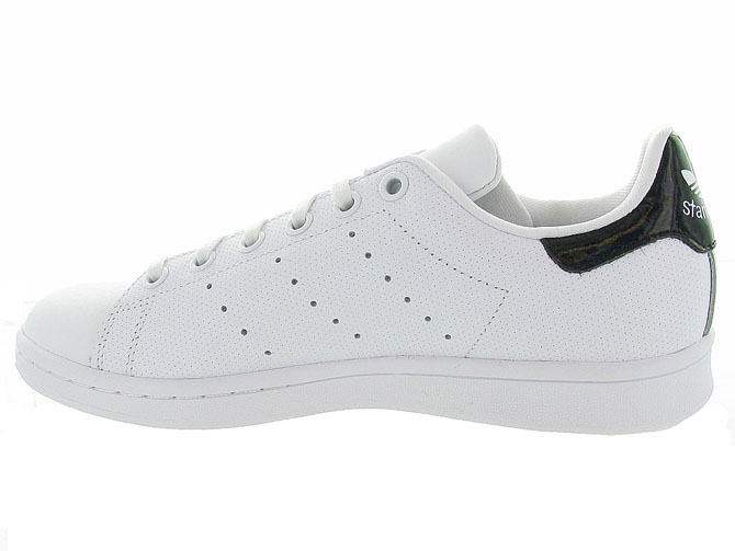 Adidas baskets et sneakers stan smith perfore noir4365102_4