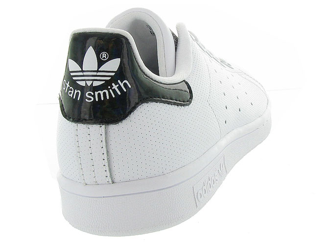 Adidas baskets et sneakers stan smith perfore noir4365102_5