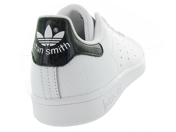 Adidas baskets et sneakers stan smith perfore noir4365102_6