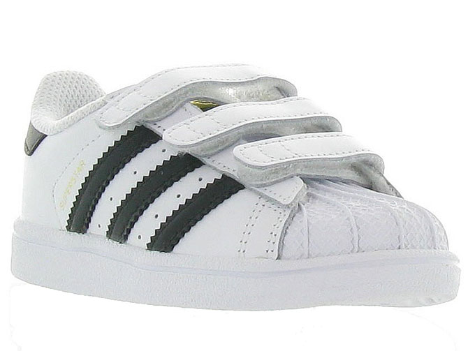 Adidas baskets et sneakers superstar cf i boy blanc