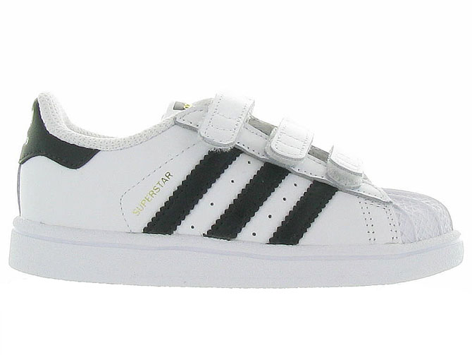 Adidas baskets et sneakers superstar cf i boy blanc4365201_2
