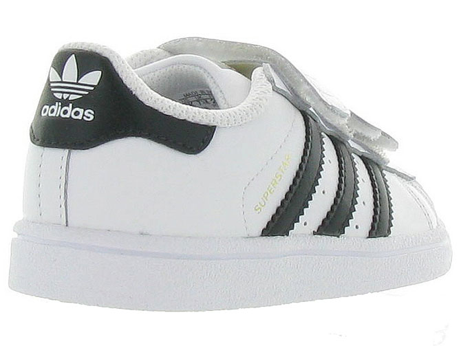 Adidas baskets et sneakers superstar cf i boy blanc4365201_5