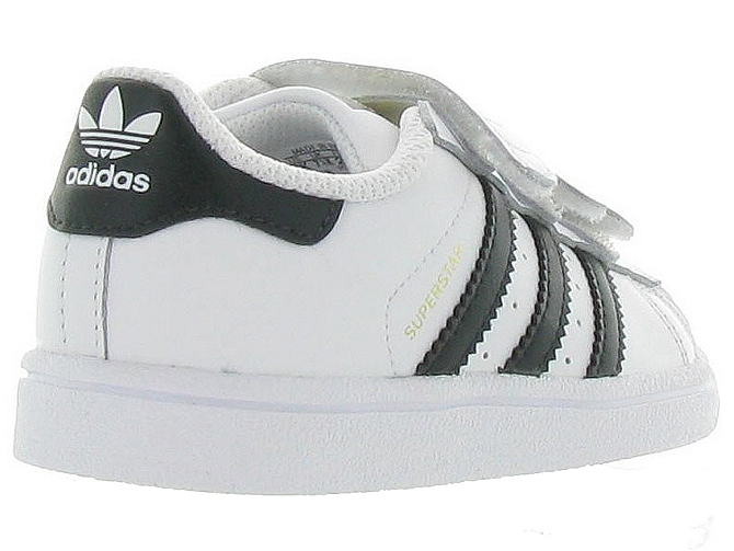 Adidas baskets et sneakers superstar cf i boy blanc4365201_6