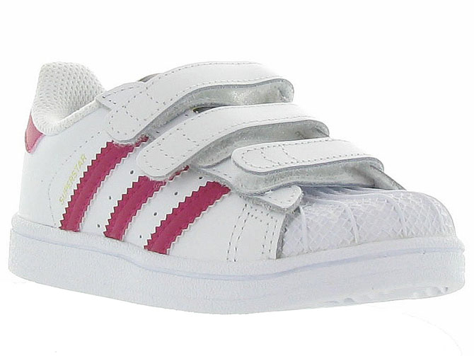 Adidas baskets et sneakers superstar cf i girl blanc