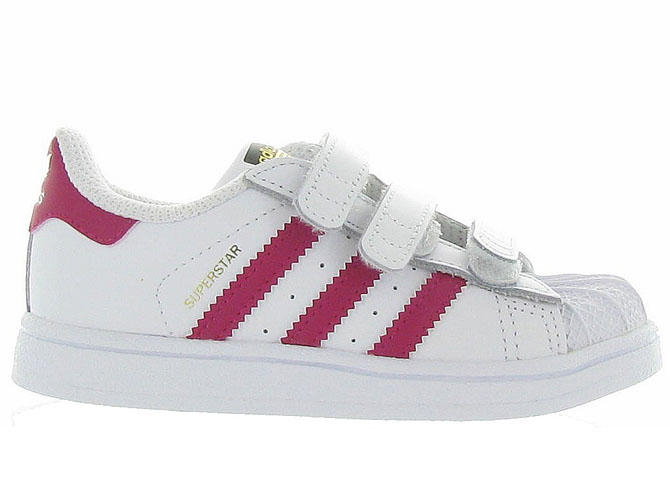 Adidas baskets et sneakers superstar cf i girl blanc4365301_2