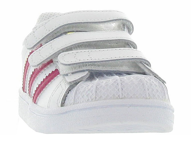 Adidas baskets et sneakers superstar cf i girl blanc4365301_3