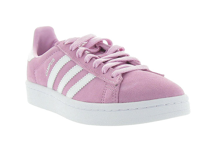 Adidas baskets et sneakers campus ah1718 rose
