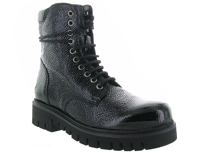 Armando bottines et boots 201 steel noir