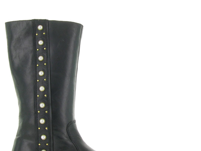 Apples and pears bottines et boots 9081b noir4397101_2