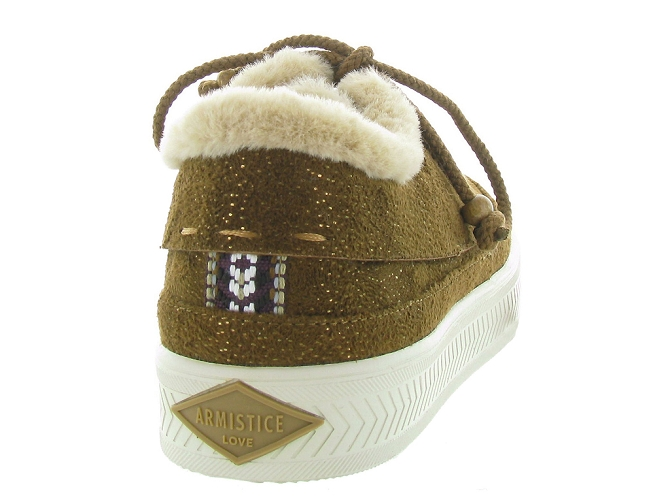 Armistice baskets et sneakers sonar indian gold4405701_5