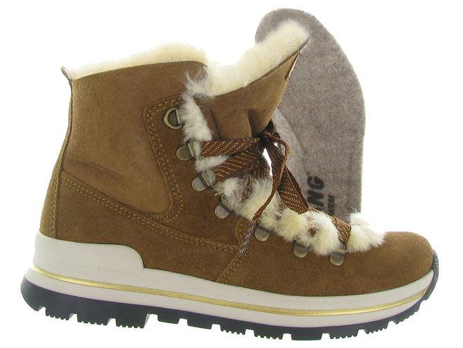 Olang apres ski bottes fourrees aurora marron4429701_2