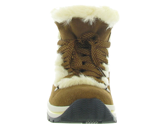 Olang apres ski bottes fourrees aurora marron4429701_3