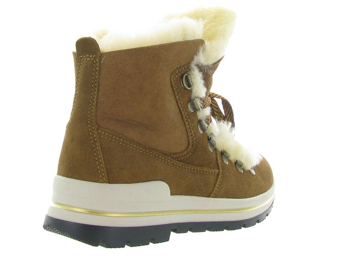 Olang apres ski bottes fourrees aurora marron4429701_5