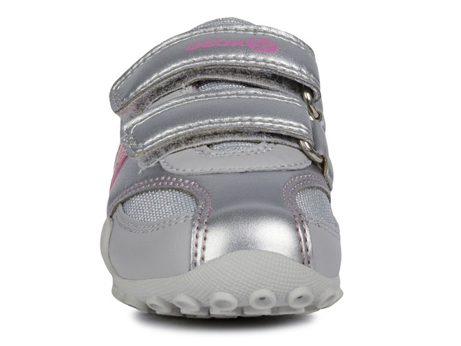 Geox baskets et sneakers b9212a snake sp argent4433601_3