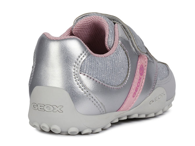 Geox baskets et sneakers b9212a snake sp argent4433601_5
