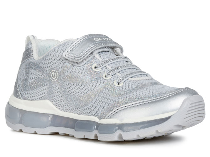 Geox baskets et sneakers j9245c android girl argent