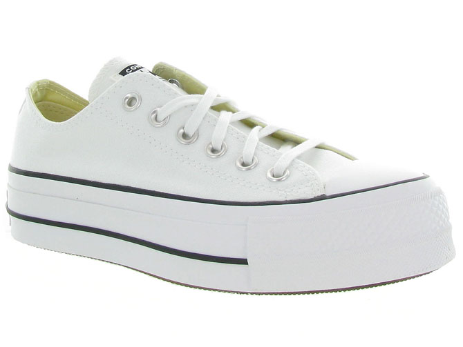 Converse baskets et sneakers ctas lift ox blanc