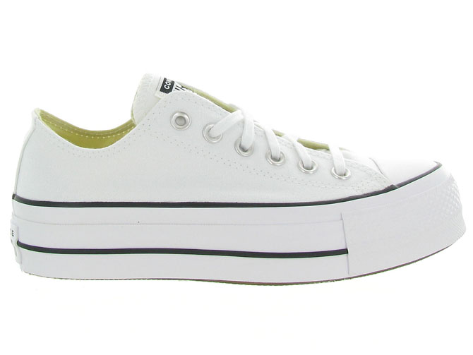 Converse baskets et sneakers ctas lift ox blanc4439602_2