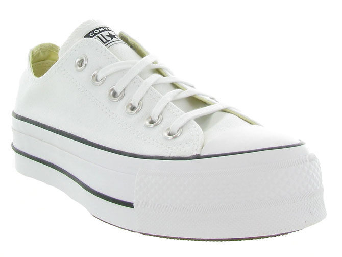 Converse baskets et sneakers ctas lift ox blanc4439602_3