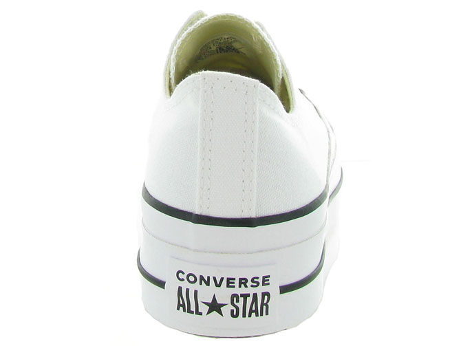 Converse baskets et sneakers ctas lift ox blanc4439602_5