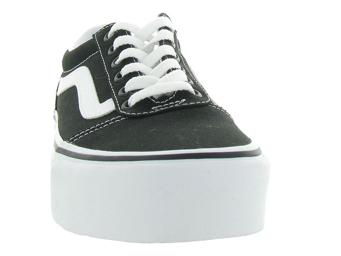 Vans baskets et sneakers ward plateform noir4440401_3