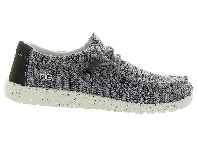 Hey dude baskets et sneakers wally sox gris4446002_2