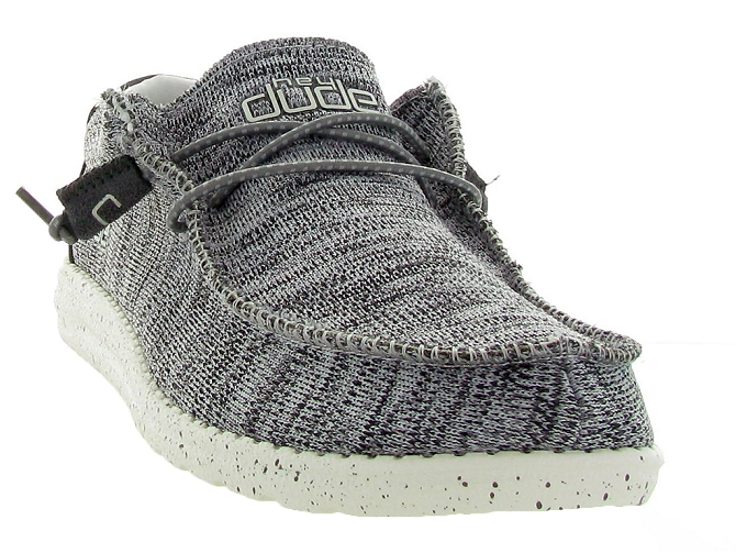 Hey dude baskets et sneakers wally sox gris4446002_3