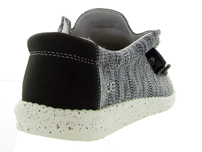 Hey dude baskets et sneakers wally sox gris4446002_5