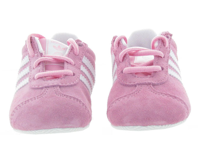 Adidas baskets et sneakers gazelle crib girl rose4451701_3