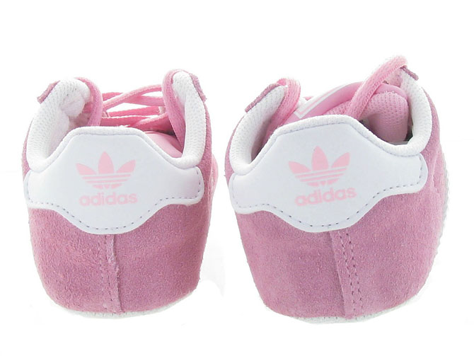 Adidas baskets et sneakers gazelle crib girl rose4451701_5