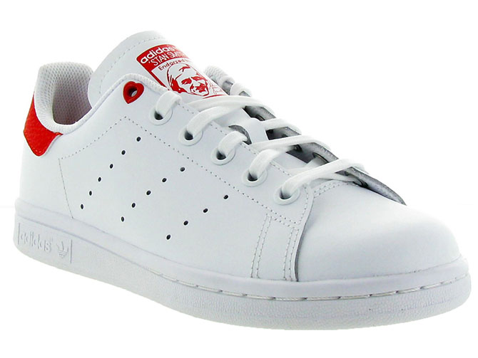 Adidas baskets et sneakers stan smith valentines blanc