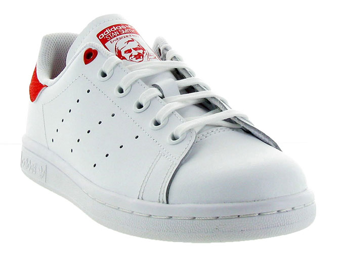 Adidas baskets et sneakers stan smith valentines blanc4451801_3