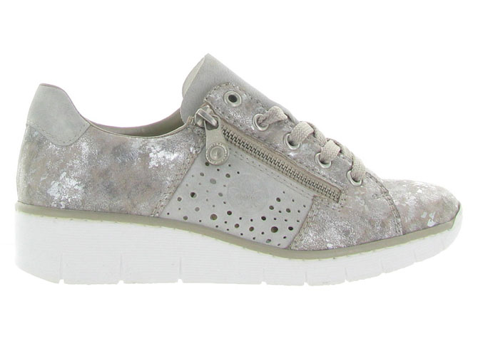 Rieker baskets et sneakers 53715 gris4453201_2