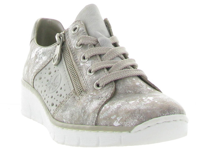 Rieker baskets et sneakers 53715 gris4453201_3