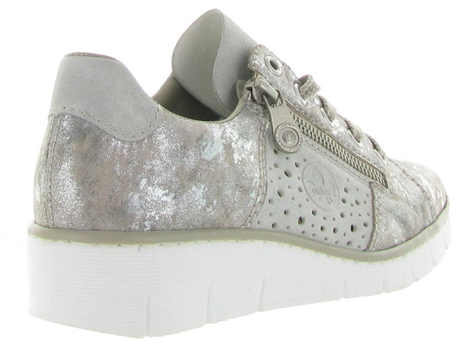 Rieker baskets et sneakers 53715 gris4453201_5