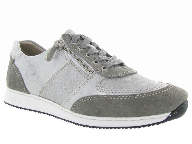 Rieker baskets et sneakers 56030 gris