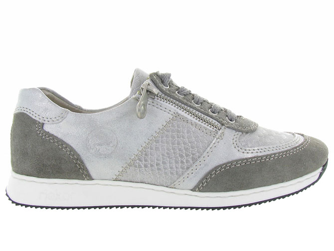 Rieker baskets et sneakers 56030 gris4454001_2
