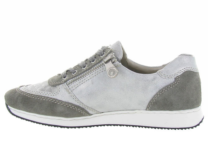 Rieker baskets et sneakers 56030 gris4454001_4