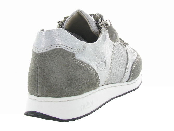 Rieker baskets et sneakers 56030 gris4454001_5
