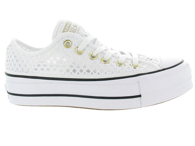 Converse baskets et sneakers ctas lift crochet blanc4464701_2